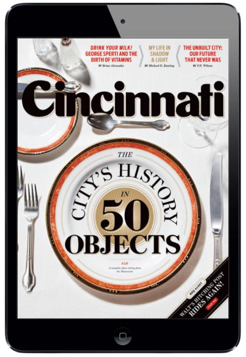 Cincinnati Magazine for iPad. #digitalmagazine