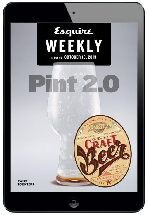 Esquire Weekly Magazine for iPad. #digitalmagazine