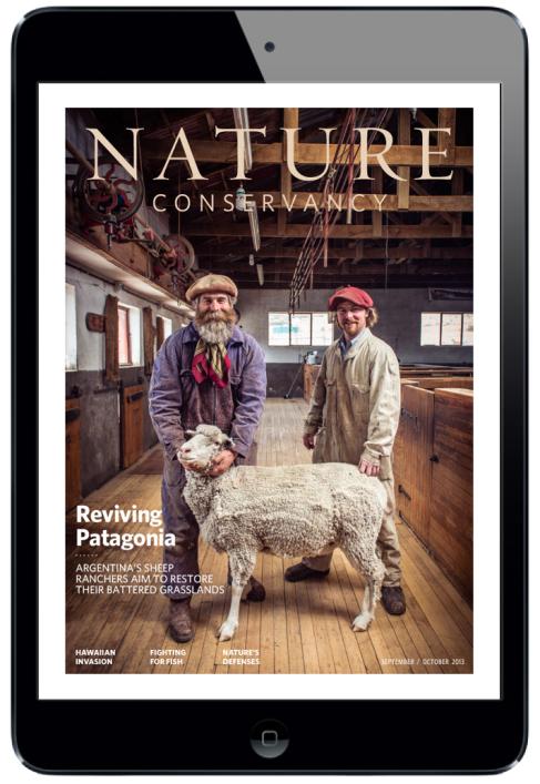 Nature Conservancy Magazine for iPad. #digitalmagazine