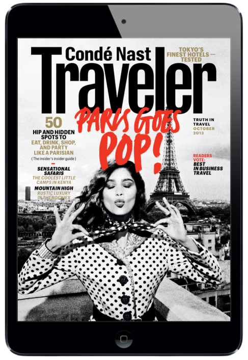 Conde Nast Traveler Magazine for iPad. #digitalmagazine