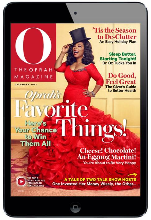 O The Oprah Digital Magazine