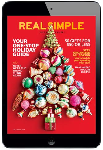 Real Simple Magazine for iPad. #digitalmagazine