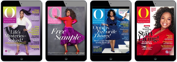 See more on www.magpla.net O The Oprah Magazine for iPad #MagPlanet #TabletMagazine #DigitalMag