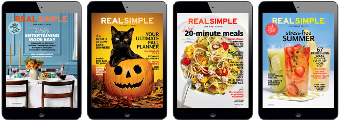 Real Simple Magazine for iPad. More on www.magpla.net MagPlanet #TabletMagazine #DigitalMag