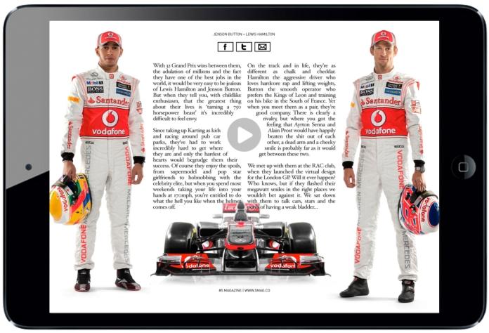 #5 Magazine for iPad. More on www.magpla.net MagPlanet #TabletMagazine #DigitalMag
