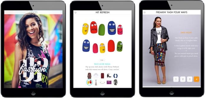 Asos iPad Magazine