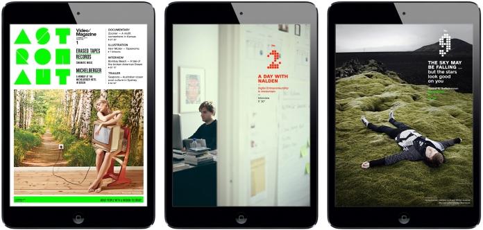 Astronaut iPad Magazine
