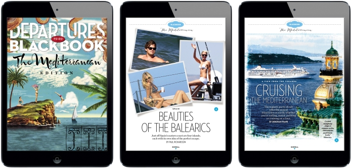 Departures iPad Magazine