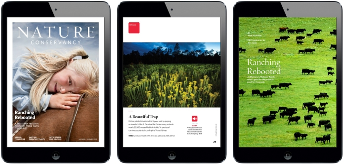 Nature Conservancy iPad Magazine copy