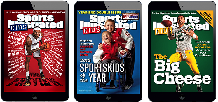 Sports Illustrated Kids Magazine for iPad. More on www.magpla.net MagPlanet #TabletMagazine #DigitalMag