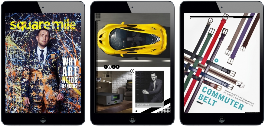 Square Mile iPad Magazine