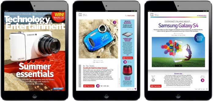 Technology & Entertainment iPad Magazine