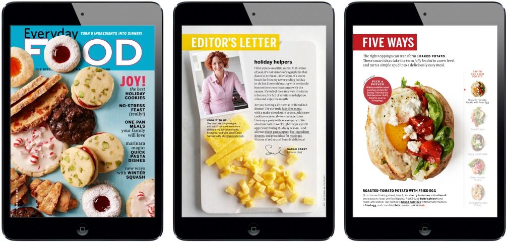 Everyday FOOD iPad Magazine