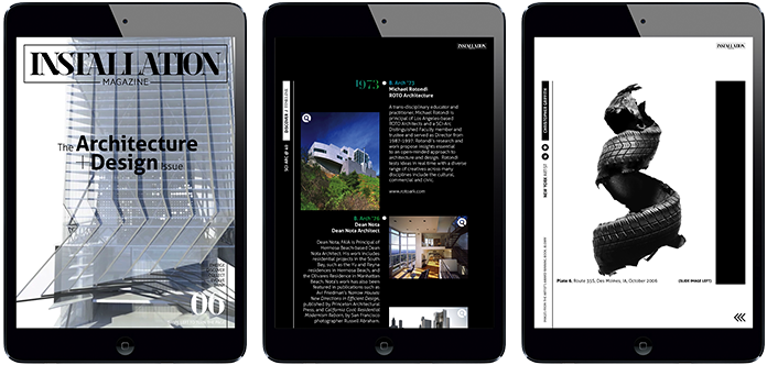 Installation Magazine