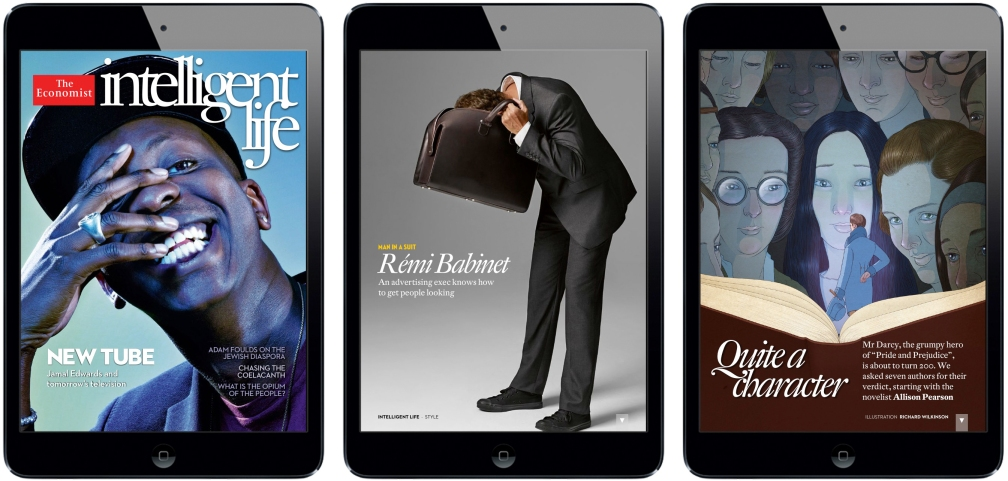 Intelligent Life iPad Magazine