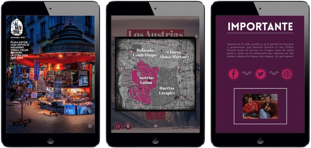 L'Almendra iPad Magazine