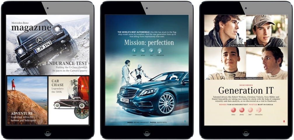 Mercedes-Benz magazine iPad Magazine
