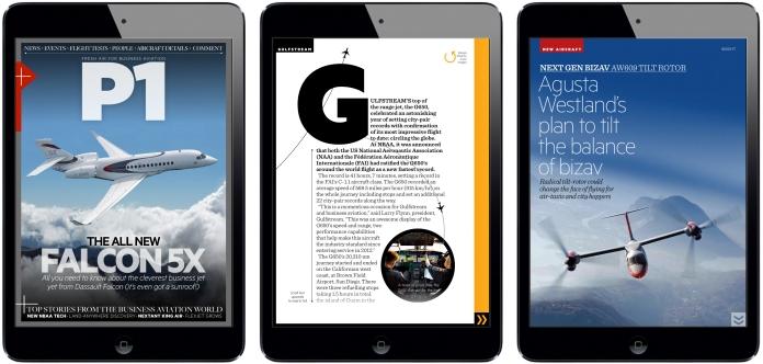 P1 Magazine iPad