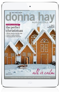 Donna hay Magazine for iPad. More on www.magpla.net MagPlanet #TabletMagazine #DigitalMag