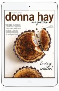 Donna hay Magazine for iPad. More on www.magpla.net MagPlanet #TabletMagazine #DigitalMag