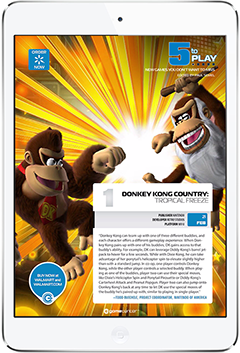 Walmart GameCenter Digital Magazine. More on www.magpla.net MagPlanet #TabletMagazine #DigitalMag