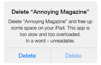 annoying magazine