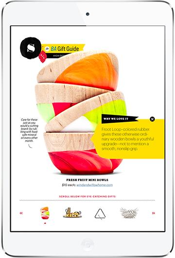 bon appetit iPad Magazine