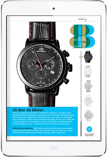 GQ Watch Magazine