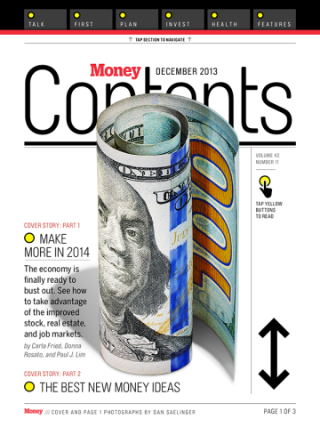 Money iPad Magazine
