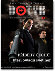 Dotyk - první český čistě tabletový týdeník