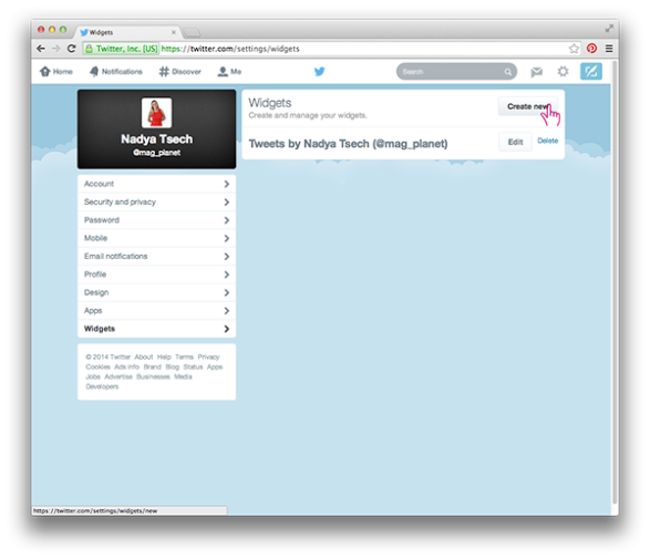Twitter Timeline in Adobe DPS in 10 easy steps