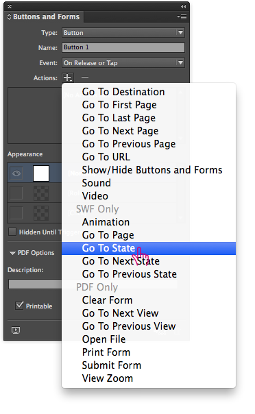 Create Pop-ups in Adobe DPS