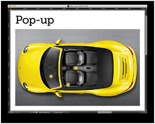 Create Pop-ups in Adobe DPS