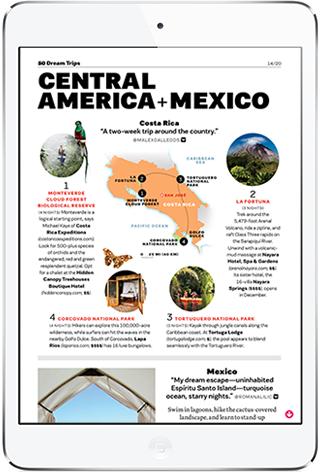 Travel+Leisure iPad Magazine