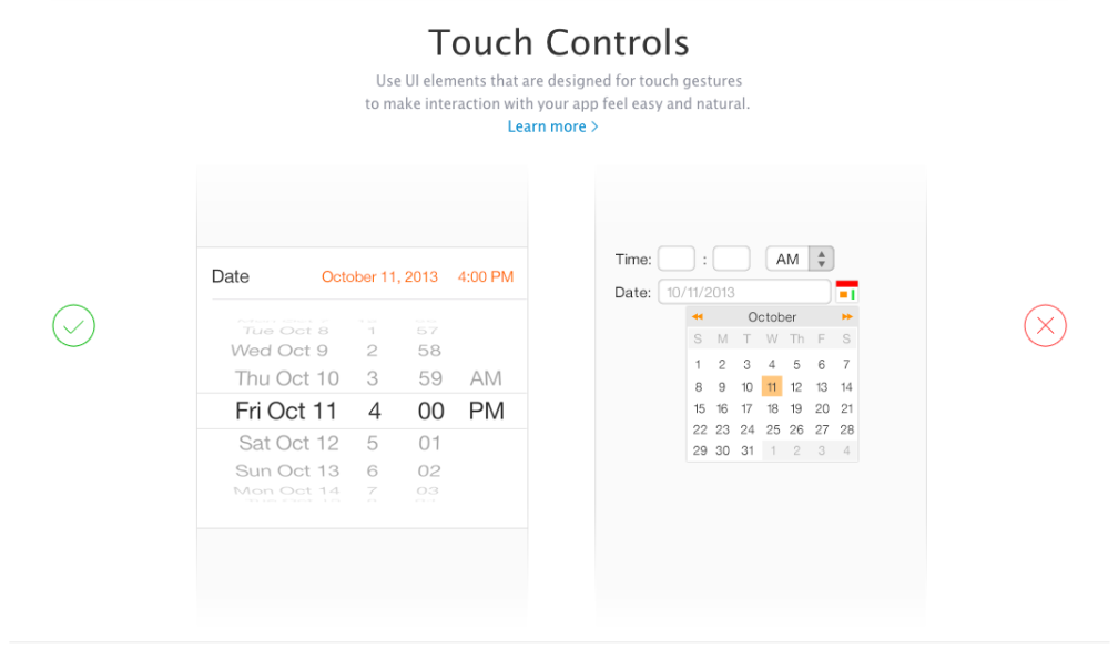 Apple UI Design Dos and Don'ts