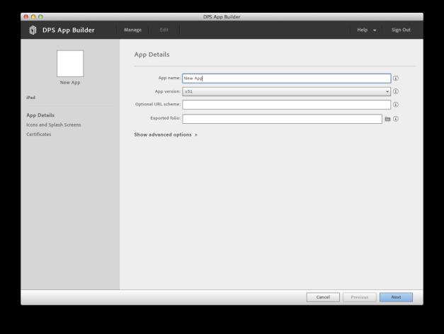 DPS App Builder.