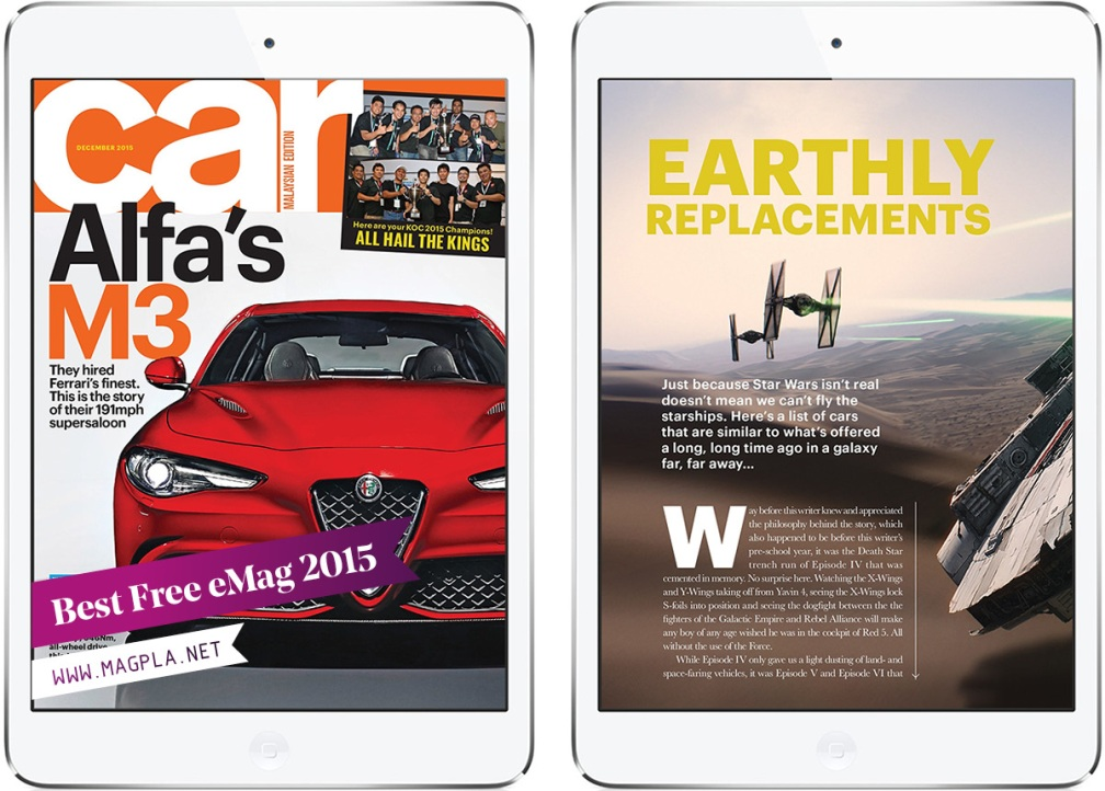 www.MagPla.net CAR Malaysia. Best Free eMag of 2015