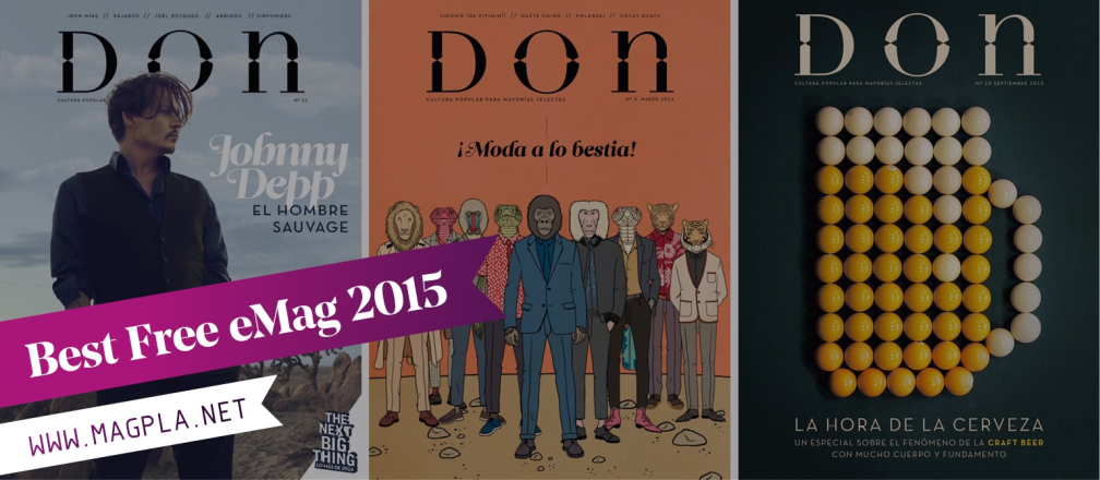 www.MagPla.net Revista Don. Best Free eMag of 2015