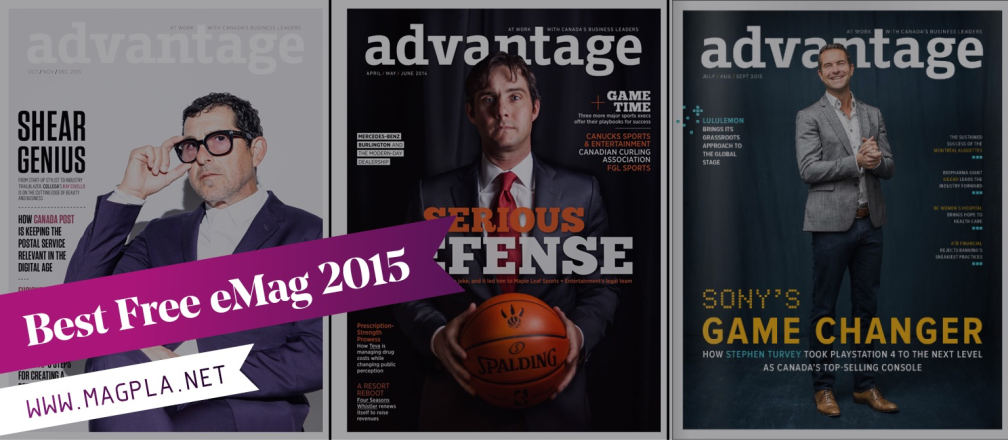 www.MagPla.net Advantage Magazine. Best Free eMag of 2015