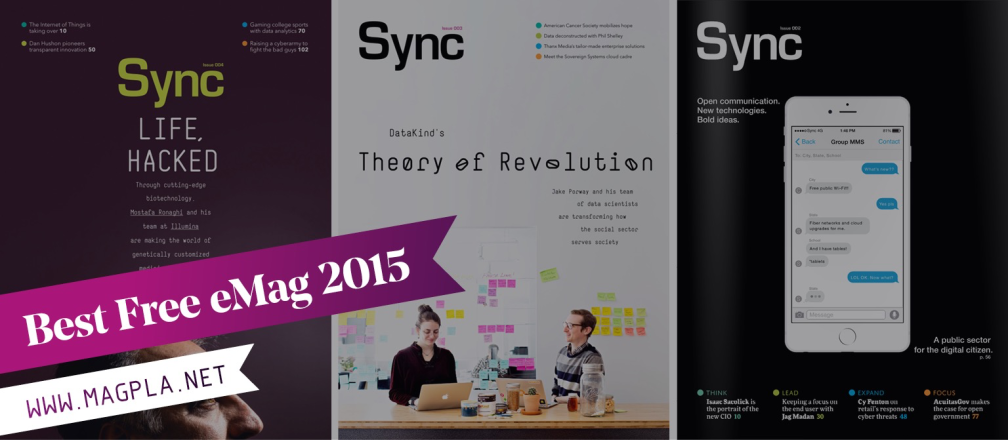 www.MagPla.net Sync Magazine. Best Free eMag of 2015