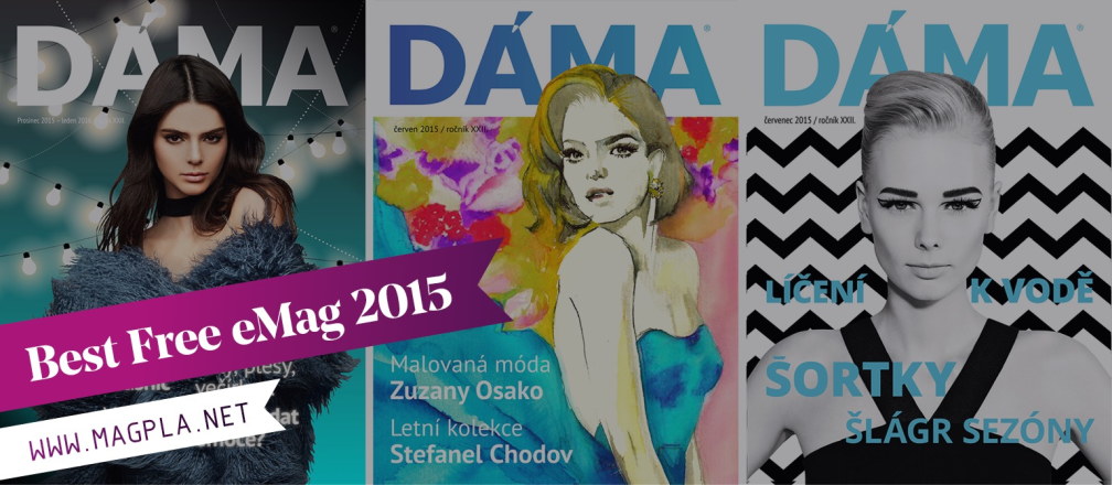 www.MagPla.net DÁMA. Best Free eMag of 2015