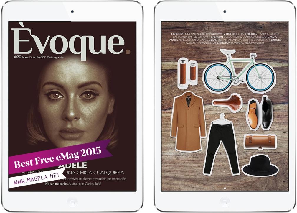 www.MagPla.net Revista Èvoque. Best Free eMag of 2015