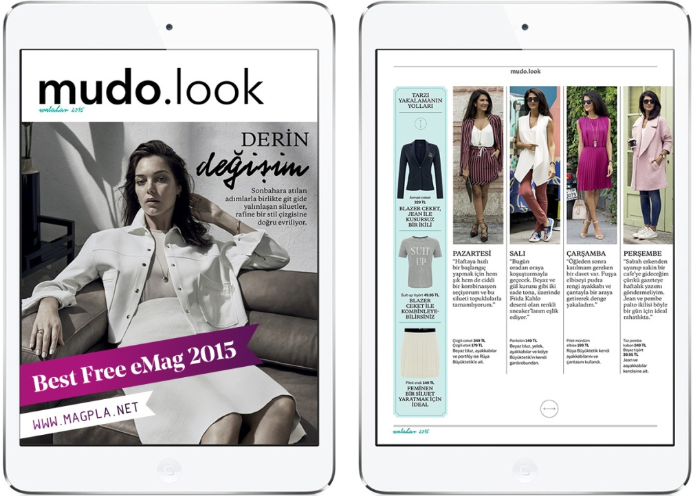 www.MagPla.net MUDO LOOK. Best Free eMag of 2015