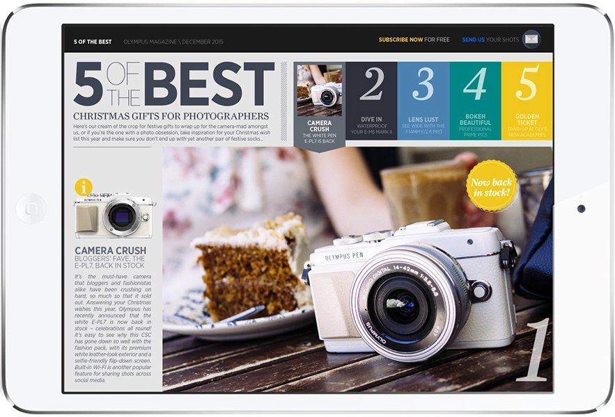 www.MagPla.net Olympus Magazine. Best Free eMag of 2015